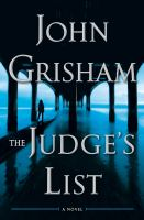 The Judge's list Book cover