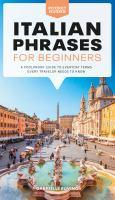 Italian phrases for beginners  Cover Image