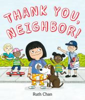 Thank you, neighbor! Book cover