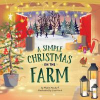 A simple Christmas on the farm Book cover