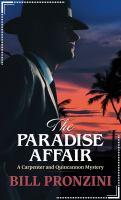 The paradise affair Book cover