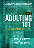 Adulting 101. #liveyourbestlife Book 2 Book cover