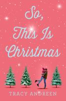 So, this is Christmas Book cover