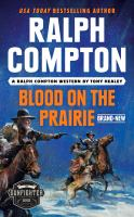 Blood on the prairie Book cover