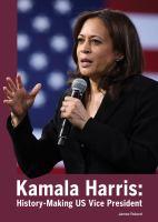 Kamala Harris: history-making US Vice President  Cover Image