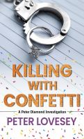 Killing with confetti Book cover
