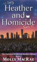 Heather and homicide Book cover