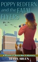 Poppy Redfern and the fatal flyers Book cover