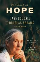 The book of hope : a survival guide for trying times Book cover