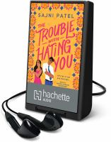The trouble with hating you Book cover