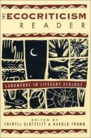 Go to record The ecocriticism reader : landmarks in literary ecology