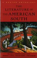 Go to record The literature of the American South : a Norton anthology